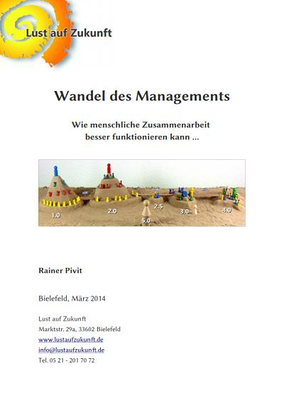 "Cover ""Wandel des Management"""